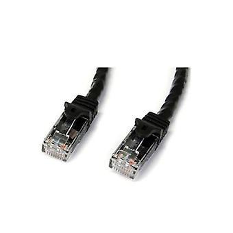 Startech Siyah Bunamasız Cat6 Utp Patch Kablo