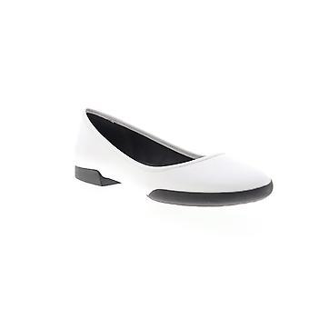 Camper Casi Tiptap mujer cuero blanco slip on flats zapatos
