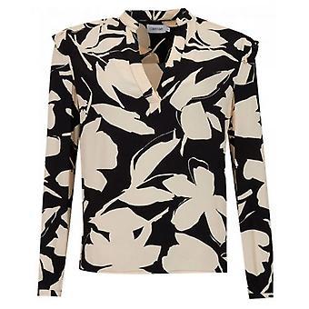 Calvin Klein Womenswear Bold Floral Shirt