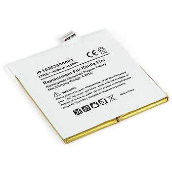 Battery for Kindle Fire by Amazon D01400 - 3555A2L DR-A013 GB-S02-3555A2-0200