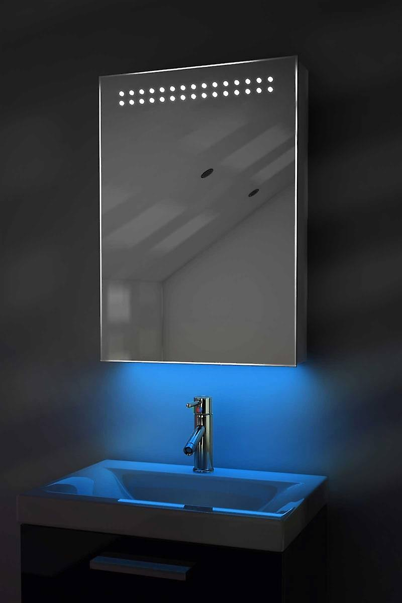 Auto Colour Changing Cabinet With Shaver & Sensor k420Rgb