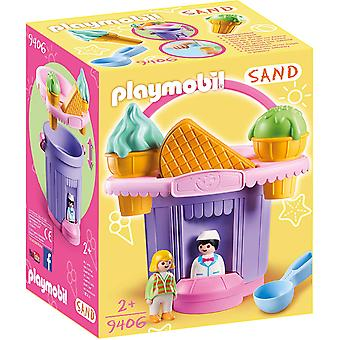Playmobil 9406 Sand Ice Cream Shop Sand Bucket