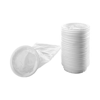 50 Medical Disposable Vomit Bags - 50 Pieces Vomit Bag With Mouthpiece Portable Waste Bag  Travel Car Sickness