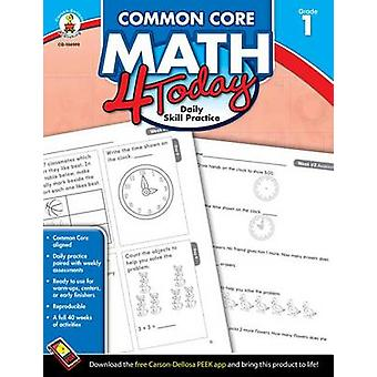 Common Core Math 4 Today - Grade 1 - Daily Skill Practice by Erin McCa