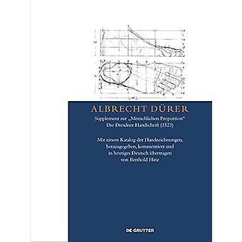 """Albrecht Durer - Supplement zur """"Menschlichen Proportion""""."""