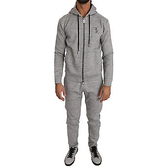 Gray cotton sweater pants tracksuit a91