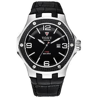V.O.S.T. Germany V100.010 Men's Carbon Steel watch 44mm