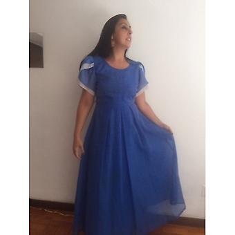 حجم L / xl الأميرة كامل Lenght الالغندي اللباس