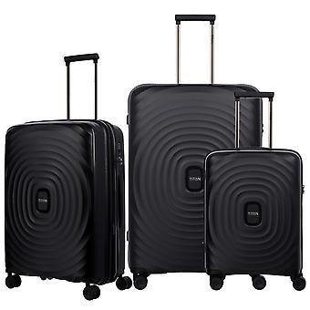 TITAN Looping Case Set 3-osainen S-M-L, musta