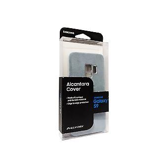 Alkuperäinen Samsung Alcantara tapauksessa Galaxy S9 - Mint