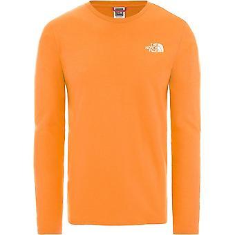 ノースフェイスイージーT92TX1ECLユニバーサルオールイヤーメンTシャツ