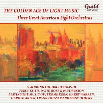 Three Great American Light Orchestras - The Golden Age of Light Music: Three Great American Light Orchestras [CD] USA import