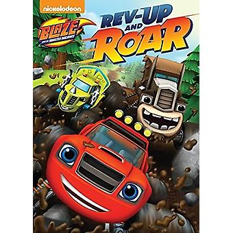 Blaze & the Monster Machines: Rev Up & Roar [DVD] USA import