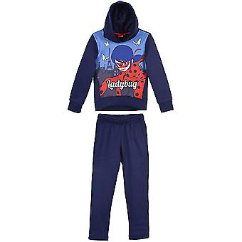 Miraculous ladybug girls tracksuit with hood mlb1133trk