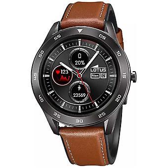 Lotus SmarTime | Men's | Bracelet en cuir brun + Bracelet libre L50012/1 Montre