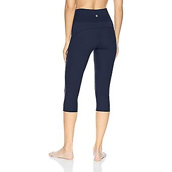 Brand - Core 10 Women's Standard Nearly Naked Yoga High, Navy, Size Small