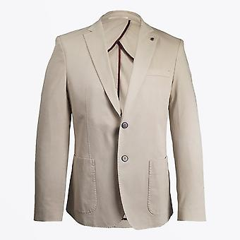 Thomas Maine  - Cotton Stretch Blazer - Beige