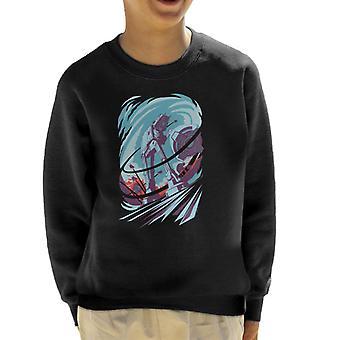 Star Wars Hoth AT AT Tow Cable Scene Kid's Sweatshirt