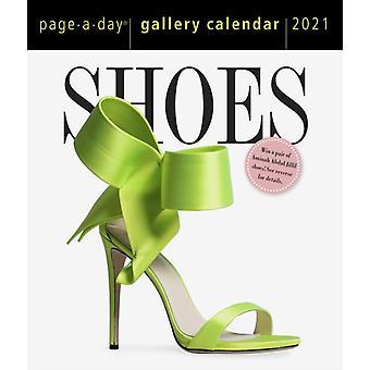 2021 Shoes PageADay Gallery Calendar by Workman Calendars