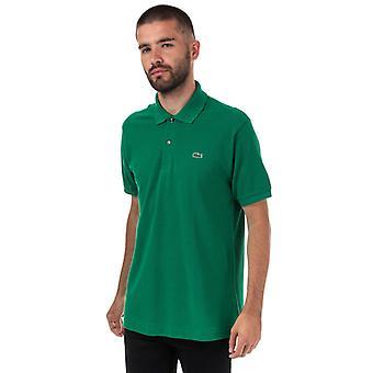 Polo Polo Men's Lacoste Classic Fit L1212 en vert