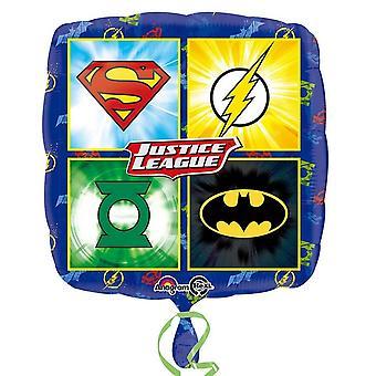 Amscan Justice League logo design folio Balloon