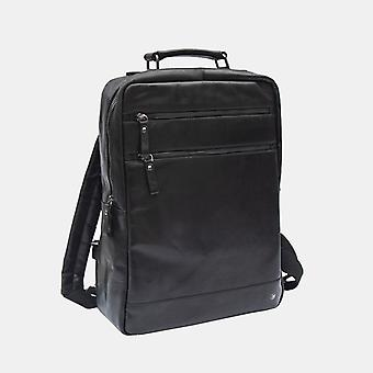Primehide Mens Leather Mochila Rucksack Work Tablet Bag Top Handle Gents 6255
