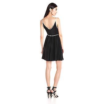 Amanda Uprichard Women's Screwdriver Dress, Black, Small