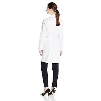 Dickies Women's GenFlex 36 Pollici Lab Cappotto, Bianco, XXX-Grande