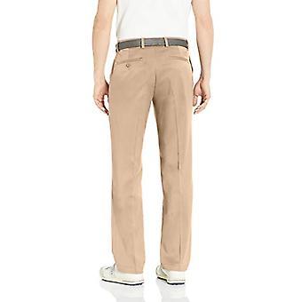 Essentials Men's Standard Classic-Fit Stretch Golf Pant, Khaki, 42W x ...