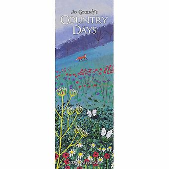 Otter House 2021 Slim Calendar-country Days