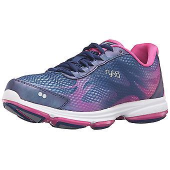 Ryka Womens Devo Plus 2 Fabric Low Top Lace Up Running Sneaker