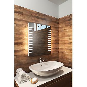 RGB Barber badeværelse spejl med sensor, barbermaskine & Demister K1012rgb