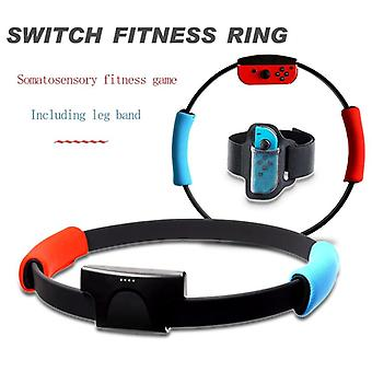 3 In 1 Fitness Ring For Nintend Adventure Adjustable Elastic Leg Strap