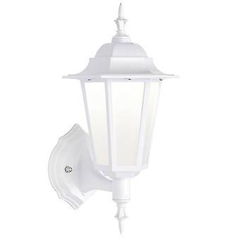 Geïntegreerde LED 1 Licht Outdoor Wall Lantern Mat Wit getextureerd, mat IP44