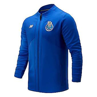 2020-2021 Porto Pre-Game Jacket (Blue)