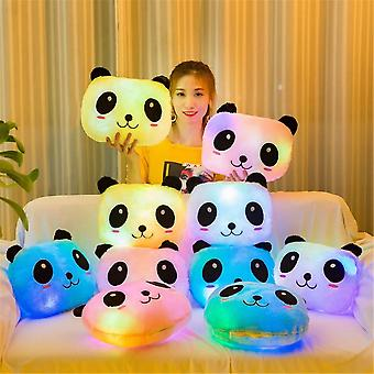 Creative Luminous Pillow Panda Cushion - Animal Plush Led Light Toy