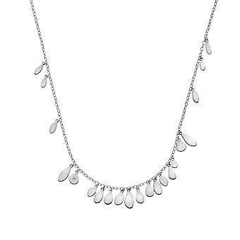 Hete diamanten sterling zilver Monsoon verklaring ketting DN138