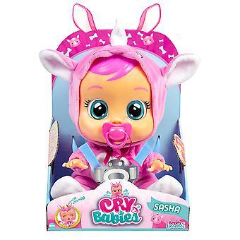 Cry Babies Sasha Daisy Interactive Doll