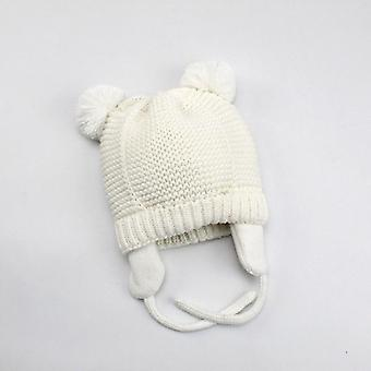 Baby Hats Boys Girls Kids Winter Bonnet For Children Muts