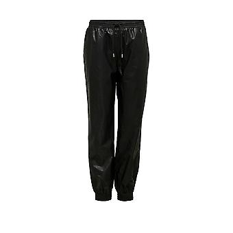 Only Women's Mady-Callee Mw Faux Leather Pants