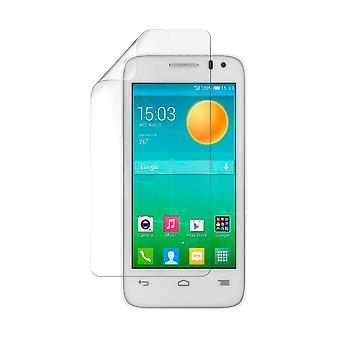 Celicious Vivid Plus Mild Anti-Glare Screen Protector Film Compatible with Alcatel Pop D3 [Pack of 2]