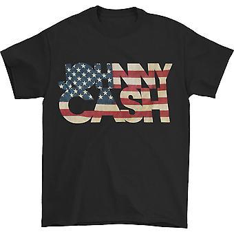 Camiseta de Johnny Cash Flag