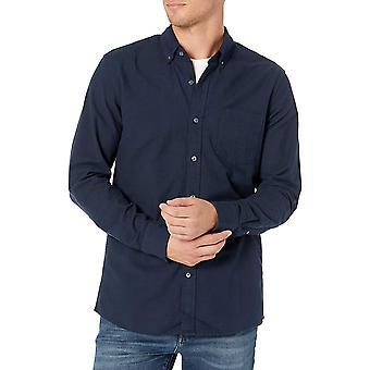 Marke - Goodthreads Men's Standard-Fit Langarm Oxford Shirt w / Poc...