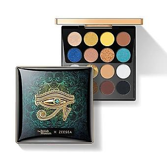 Matte Shiny Waterproof Holographic Eyeshadow Palette