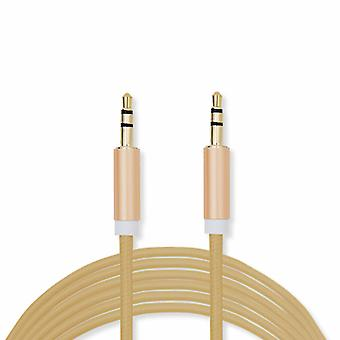 FX Powabud Aux-In-Cable 3.5mm Braided - Gold