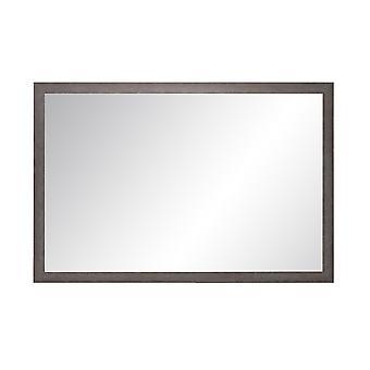Charcoal Farmhouse Gray Wall Mirror 29.5'' X 33.5''
