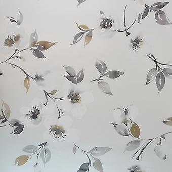 Galerie White Grey Floral