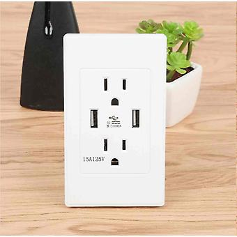 Smart House Dual Usb Wall Socket