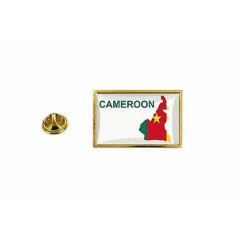 pins pin badge pin's drapeau pays carte CMR cameroun cameroune