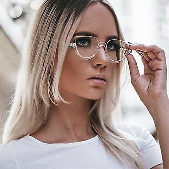 Kissa silmälasit kehykset Naiset trendikkäitä tyylejä half designer tietokone